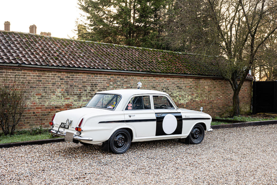 The Property of a Gentleman and Racing Enthusiast,1963 Vauxhall VX FOUR-NINETY Works Rally Car  Chassis no. FBH43000