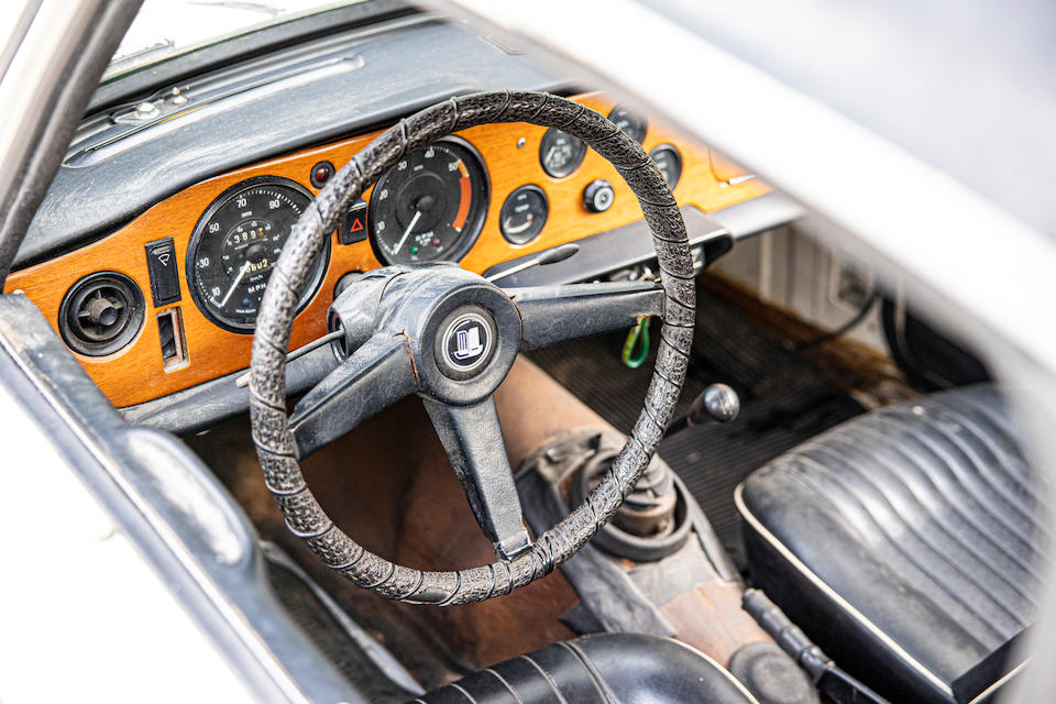 The Property of a Gentleman and Racing Enthusiast,1968 Triumph TR250  Chassis no. CD1856L