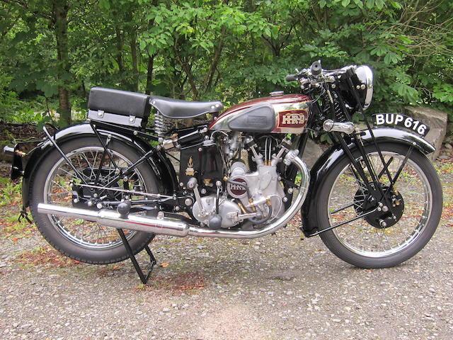 1937 Vincent HRD 498cc Comet Series A Frame no. D1272 Rear Frame no. D1272 Engine no. C420 Crankcase nos. 6 / 6