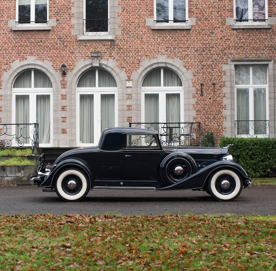 1934 Packard Series 1101 Eight 'Rumble Seat' Coupé  Chassis no. 71867 Engine no. 375625