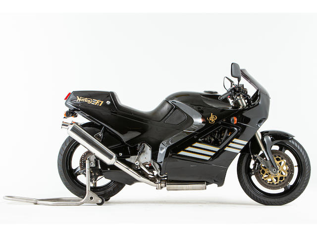 Offered from the National Motorcycle Museum Collection, 1990 Norton 588cc F1