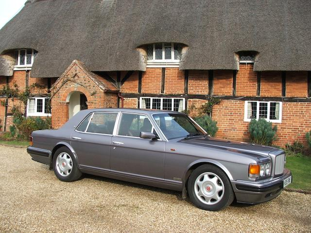 1995 Bentley Turbo R Four Door Saloon  Chassis no. SCBZR15C3TCH57067
