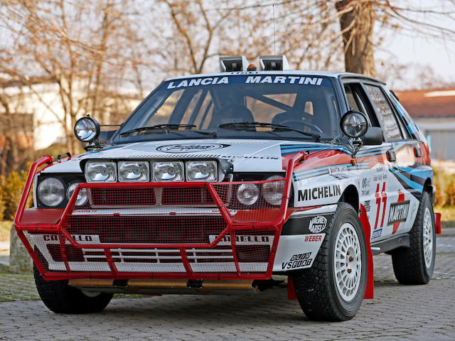 1988 Lancia Delta Integrale group A   Chassis no. 417996
