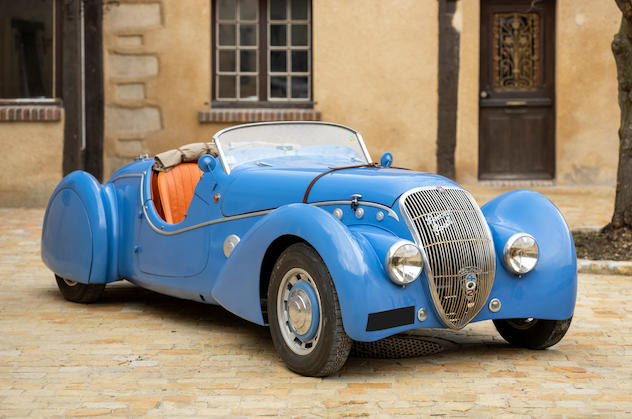 News: Bonhams Motor Cars First Digital-Only Sale Features French Classic Darl'mat