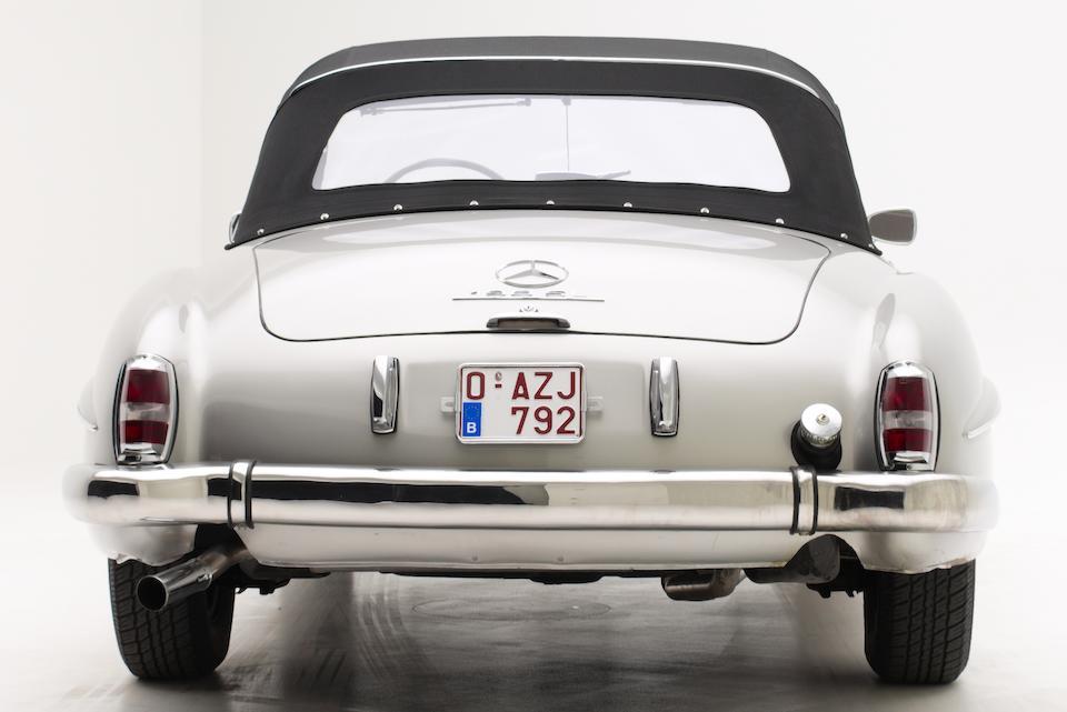 1955 Mercedes-Benz 190 SL Convertible  Chassis no. 5501048 Engine no. 121.921.55.01071