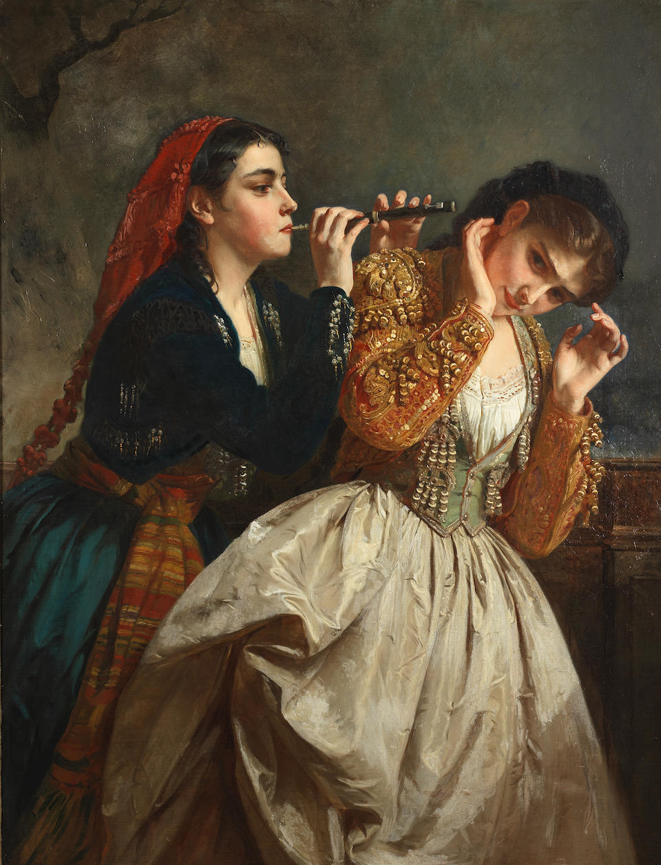 Henri Guillaume Schlesinger (French, 1814-1893) The Five Senses