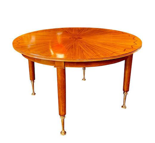 A Jules Leleu extendable dining table Circa 1940s