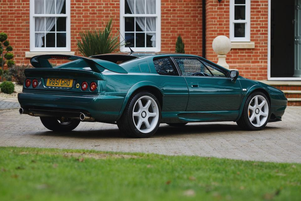 1998 Lotus Esprit V8 GT  Chassis no. SCCDA0823WHC15520