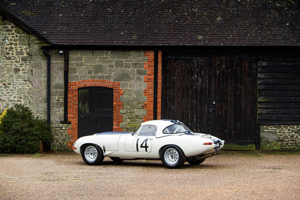 1964 Jaguar E-Type Series 1 3.8-Litre Semi-Lightweight FIA Competition Roadster with Hardtop  Chassis no. 881848
