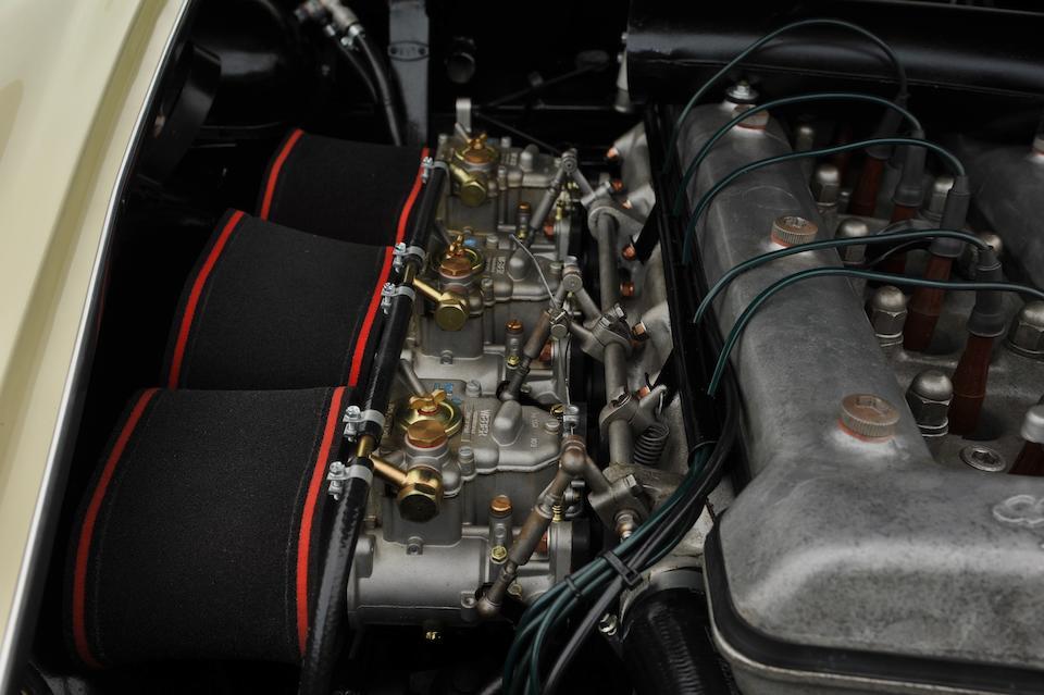 1963 Alfa Romeo  2600 Spider  Chassis no. AR 191808 Engine no. AR00601*02706*