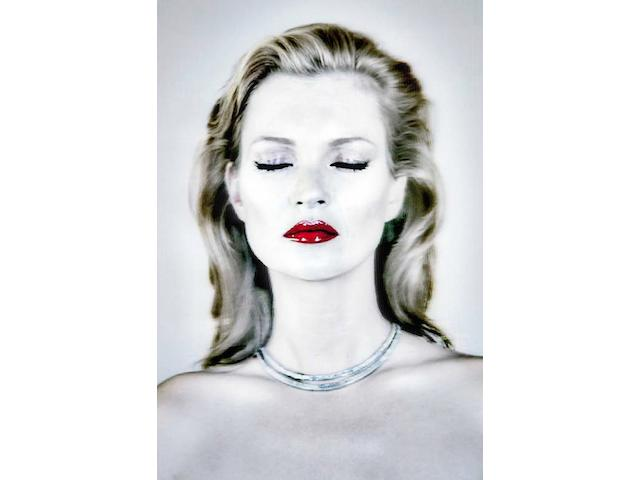 Chris Levine (Canadian/British, born 1972) Kate Moss She's Light (Pure), 2014