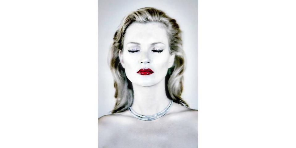 Chris Levine (Canadian/British, born 1972) Kate Moss She's Light (Pure), 2014