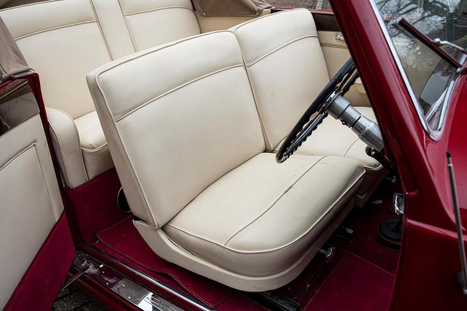 1952 Lagonda 2.6 Drophead Coupé   Chassis no. LAG/50/480 Engine no. LBoA/50/559