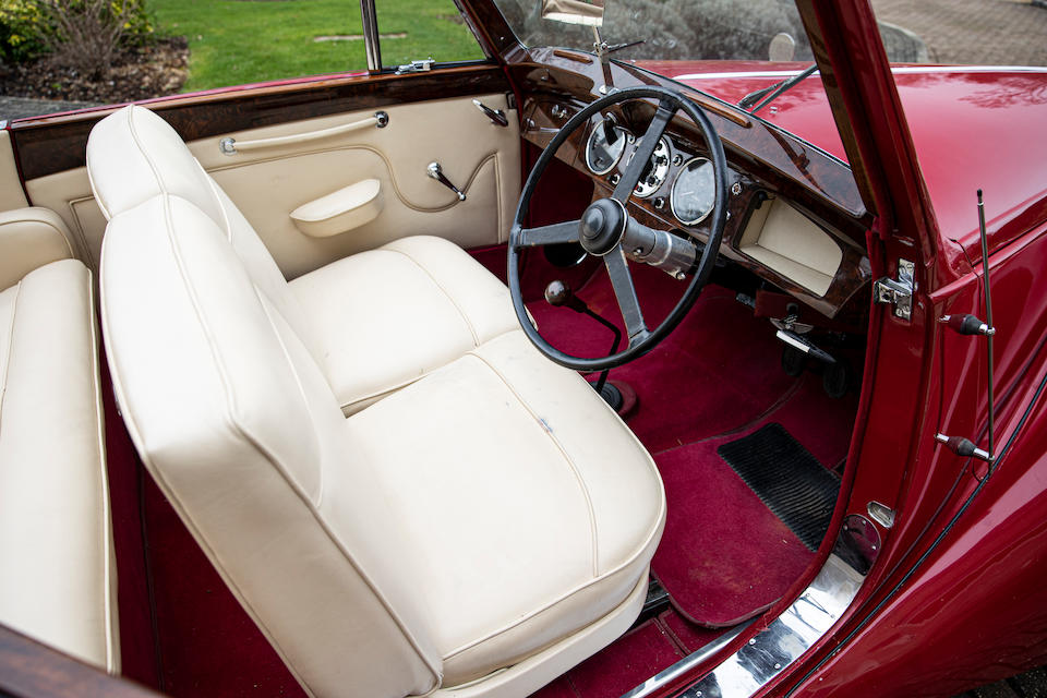 1952 Lagonda 2.6 Drophead Coupé   Chassis no. LAG/50/480 Engine no. LBoA/50/559