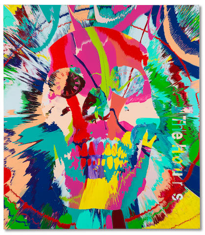 Damien Hirst (B. 1965) Beautiful Hours Spin Painting IX 2008