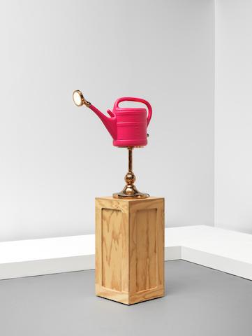 Studio Job Prototype 'Watering Can' lamp, from the 'Containers III, Bronze = Plastic series',  2019