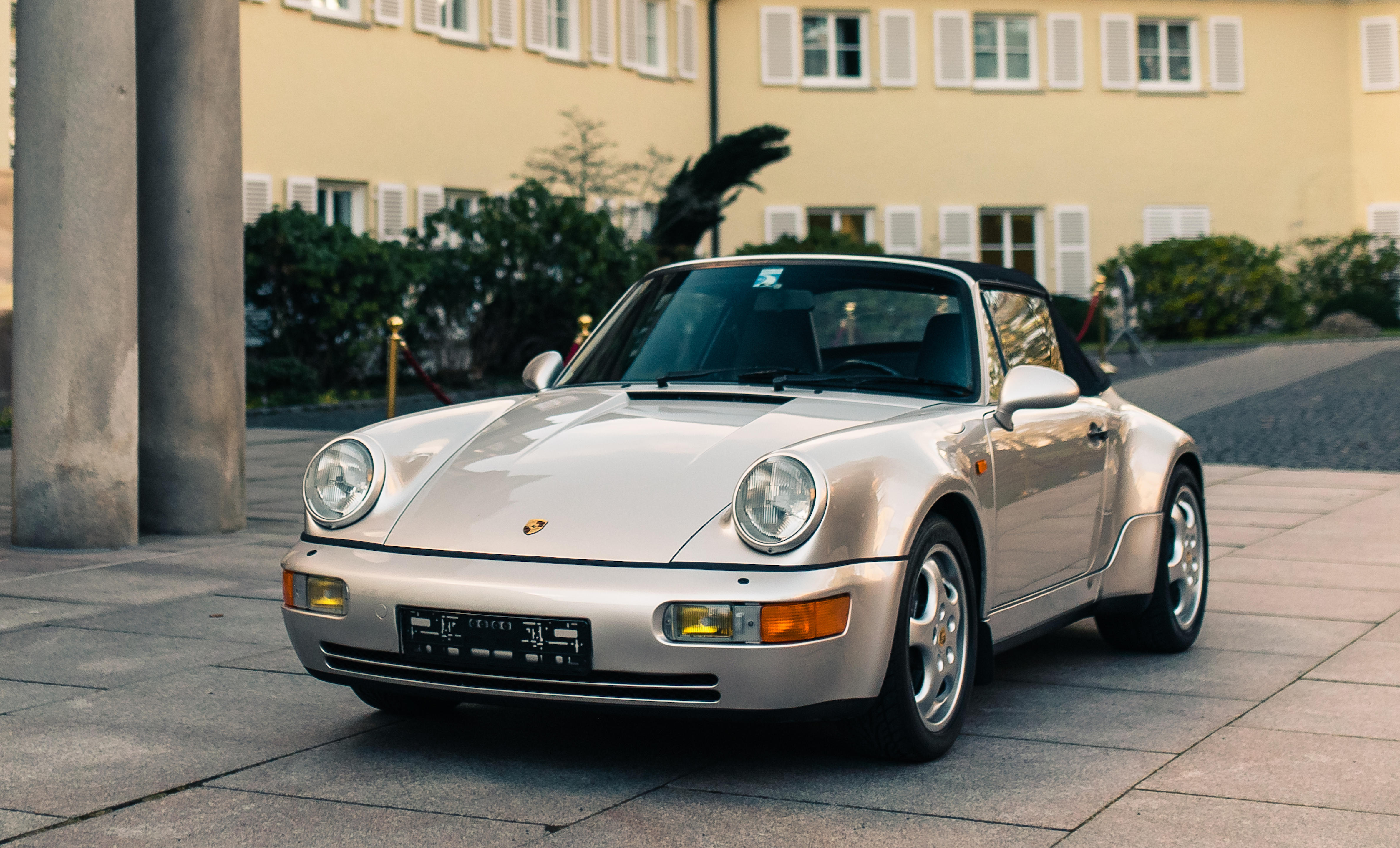 Delivered new to the late Diego Armando Maradona,1992 Porsche 911 Carrera 2 Type 964 'Works Turbo Look' Cabriolet  Chassis no. WP0ZZZ96ZNS452830