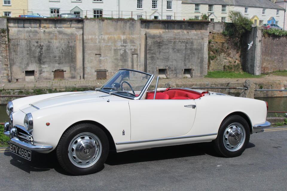 1965 Alfa Romeo Guilia Spider  Chassis no. 383241 Engine no. 13478
