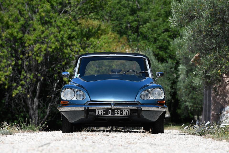 1967 Citroën DS21 Décapotable  Chassis no. 4600088