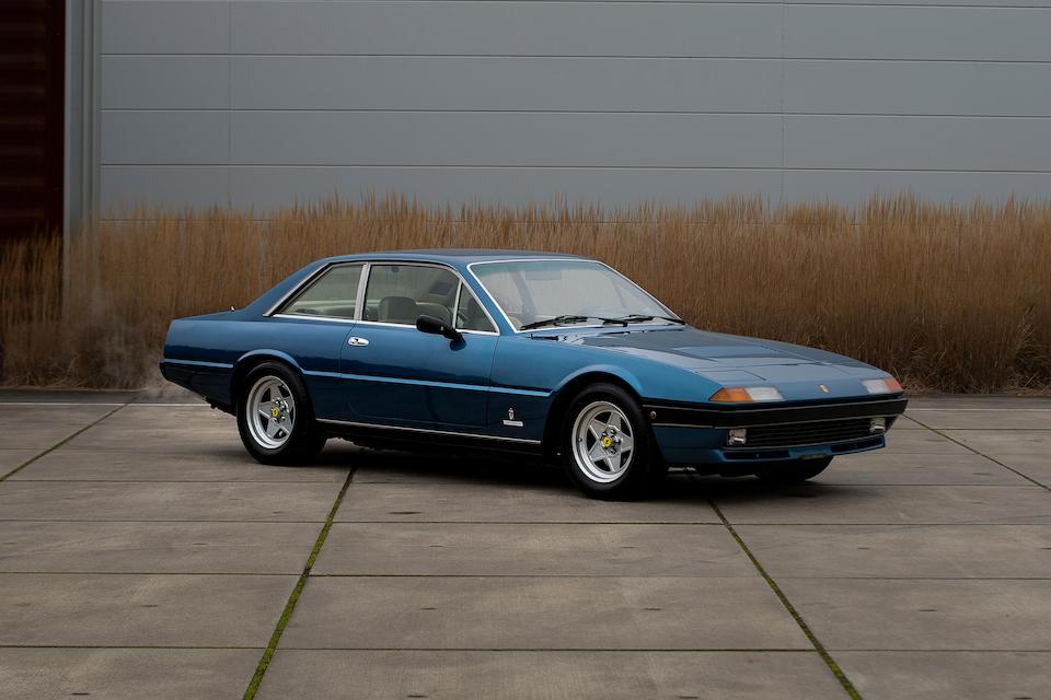 First owned by Piero Lardi Ferrari,1983 Ferrari  400i GT 2+2 Coupé  Chassis no. ZFFEB07B000046017