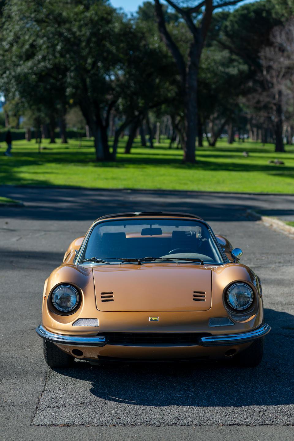 1973  Ferrari  Dino 246 GTS  Chassis no. 05508 Engine no. 135 CS 10887