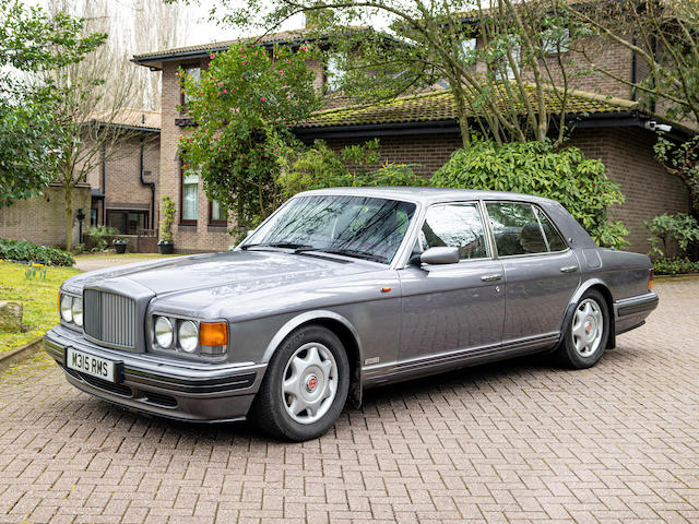 1995 Bentley Turbo R  Chassis no. SCBZR15C3TCH57067