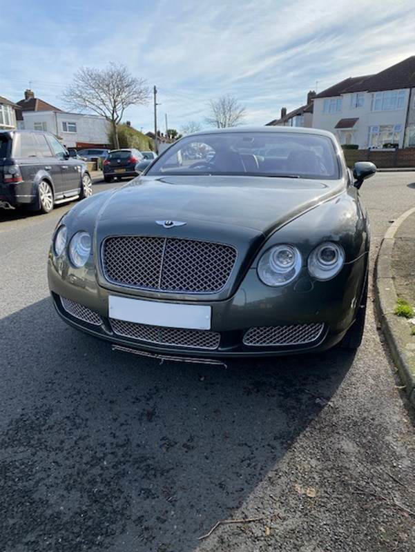 2003 Bentley Continental GT  Chassis no. SCBCE63W84CO20055