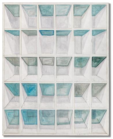 Zhang Enli (B. 1965) Wooden Shelf 2012