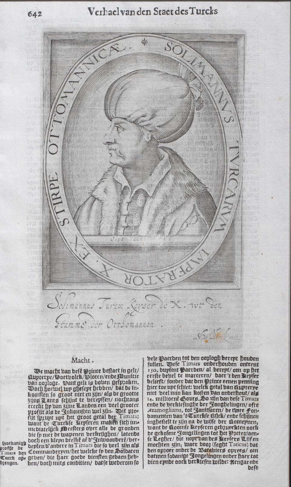 Sultan Suleyman the Magnificent (reg. 1520-66) after Hieronymus Hopfer (1500-63), Augsburg, circa 1530 (2)