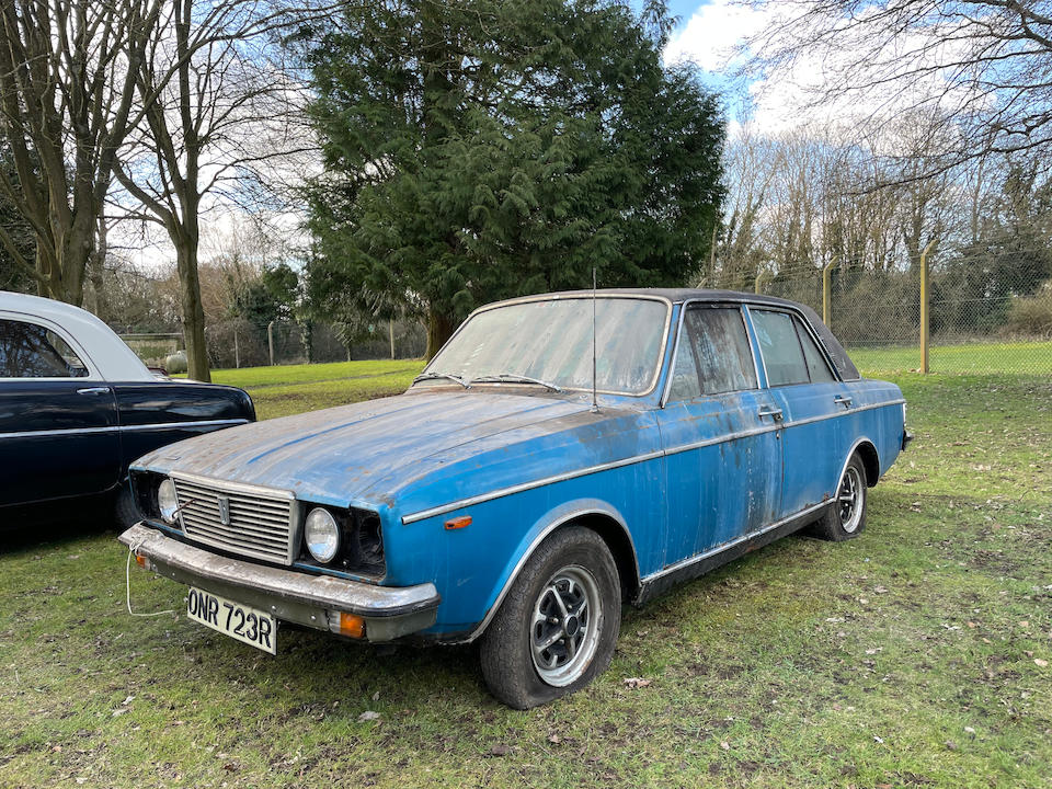 1976 Humber Sceptre Project  Chassis no. R5ABE6L126553 Engine no. Engine no. 12H907AA009742