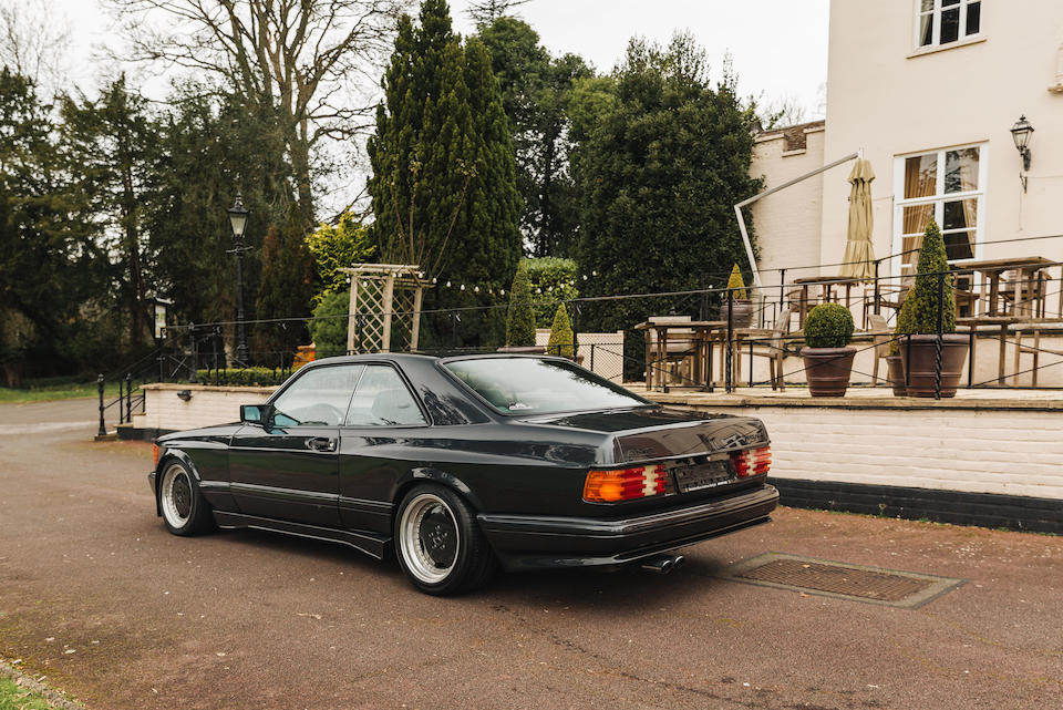 1989 Mercedes-Benz 560SEC AMG 6.0 'Wide Body'  Chassis no. WDB1260451A511881