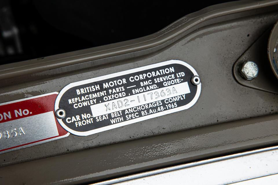 1970 Mini 1275 GT  Chassis no. XAD2-117634