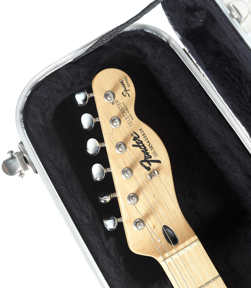The Rolling Stones: a Fender Squire Telecaster signed by the band, 1991,