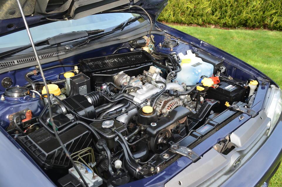 1995 Subaru Impreza Series McRae  Chassis no. JF1GC8KD3SG0110
