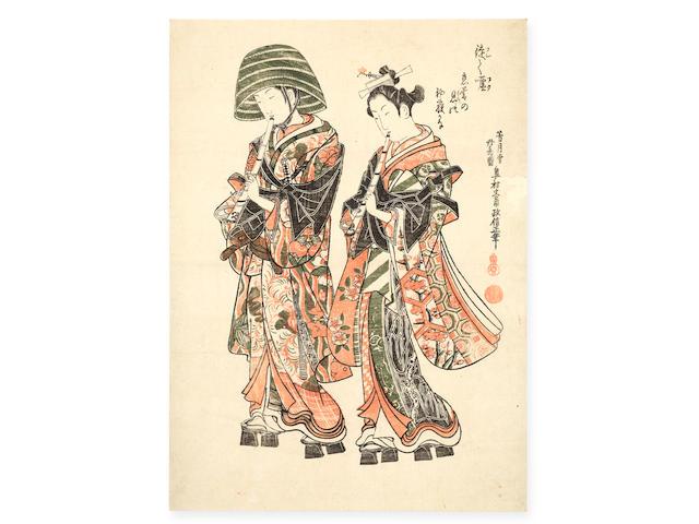 Okumura Masanobu (1686-1764) Edo period (1615-1868), mid-18th century