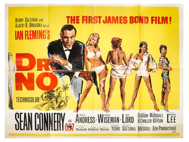 Dr No, Eon Productions / United Artists, 1962,