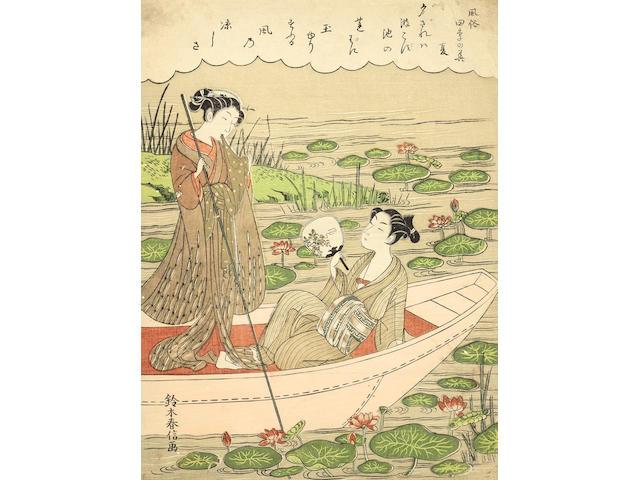 Suzuki Harunobu (1725-1770) Edo period (1615-1868), circa 1769-1770
