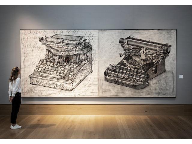 William Kentridge (B. 1955) Large Typewriters 2003