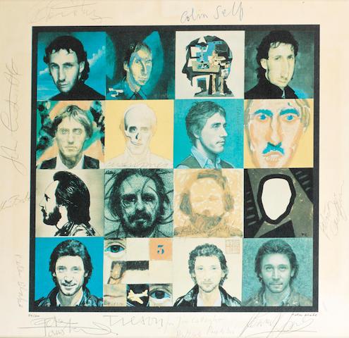 The Who / Peter Blake (British, b.1932): Faces Dances, 1981,