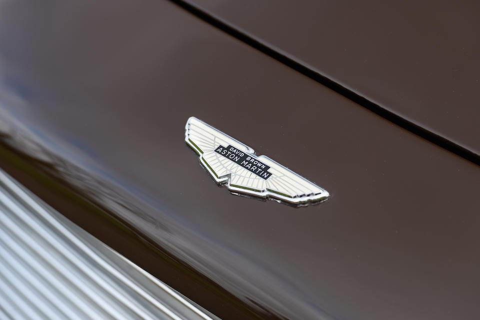 AMOC Volz and Club Trophy-winning,1968 Aston Martin DB6 Volante   Chassis no. DBVC/3682/R Engine no. 400/3475