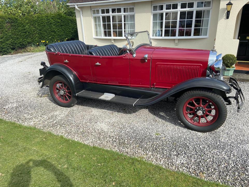1929 Willys Overland Whippet Six  Chassis no. TPC705