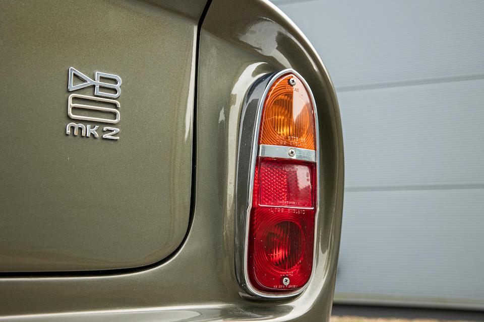 c.1971 Aston Martin DB6 Mark 2 Vantage Sports Saloon  Chassis no. DB6 MK2/4184/R