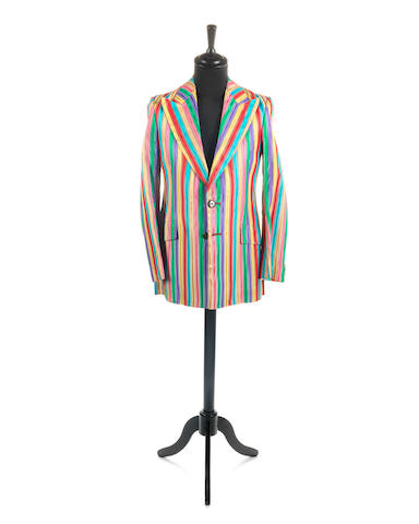 Keith Richards / The Rolling Stones: A satin rainbow jacket made for Keith, circa 1967,