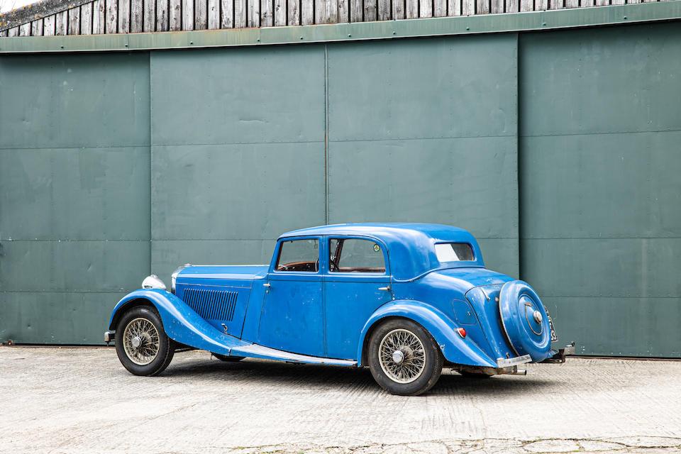 1935 Bentley 3 1/2-Litre Saloon Project