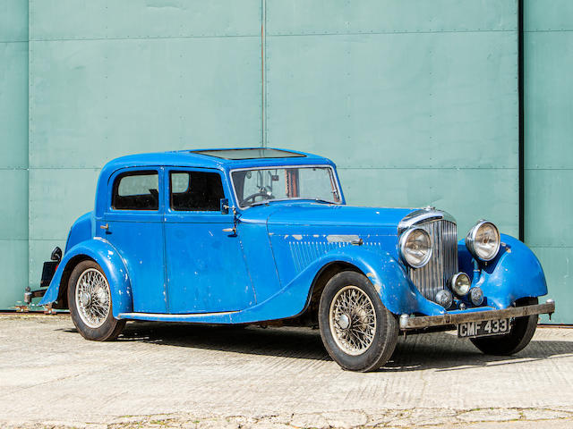 1935 Bentley 3 1/2-Litre Saloon Project