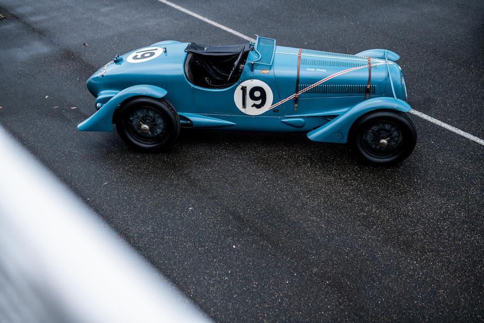 1936 Delahaye 135 S Compétition Court   Chassis no. 46810 Engine no. 46810