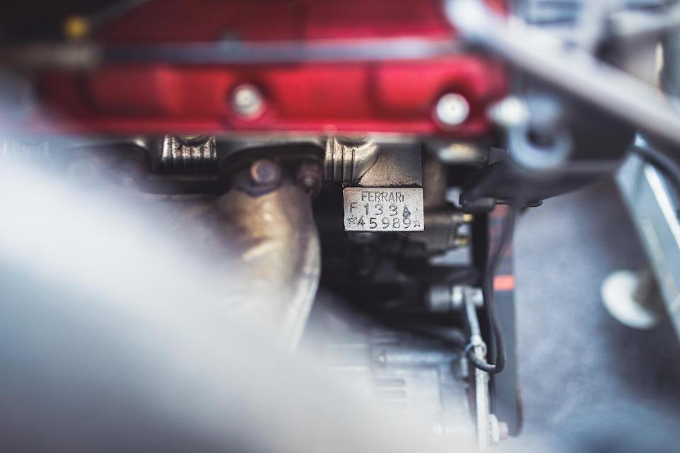 1997 Ferrari 550 Maranello GTLM Competition Coupé  Chassis no. 106404