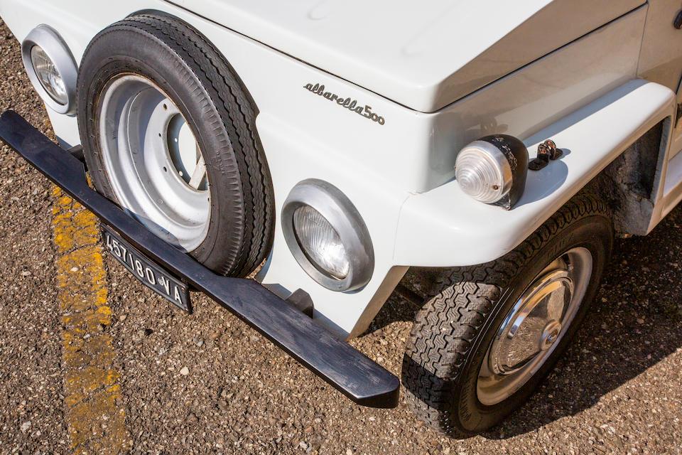 """1968 FIAT 500 F """"Albarella""""   Chassis no. 1727461"""