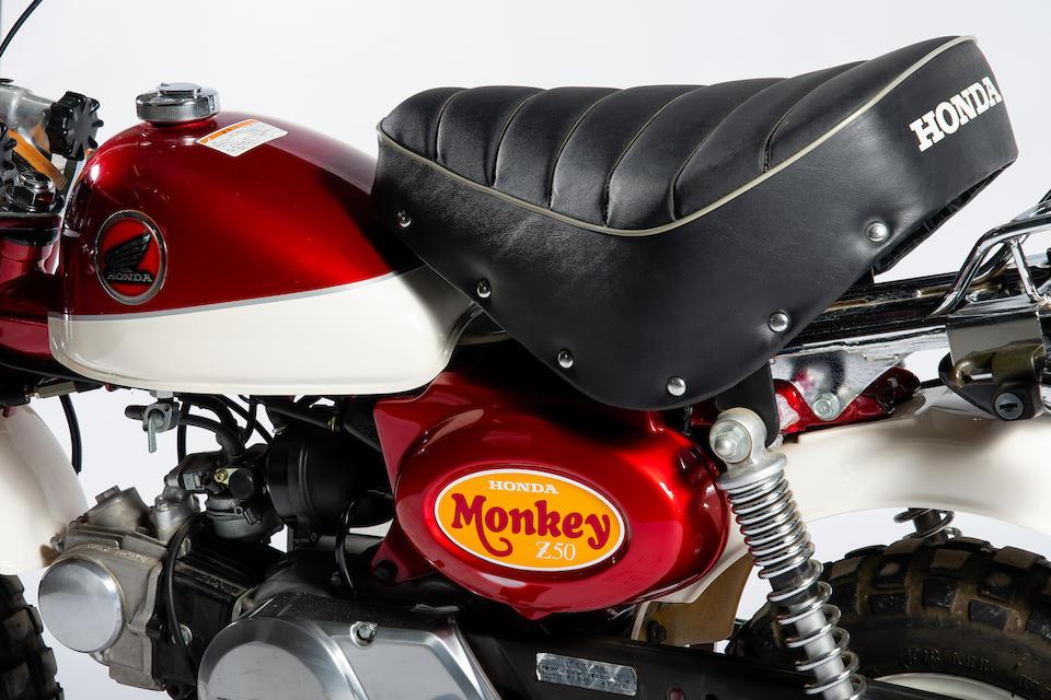 2000 Honda Z50J 'Millennium' Monkey Bike Frame no. AB27-1004822 Engine no. AB27E-1004801