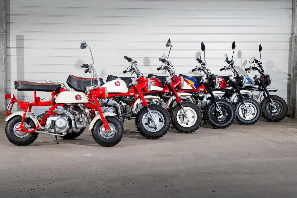 2001 Honda Z50J 'Baby Tracker' Monkey Bike Frame no. AB27-1105222 Engine no. AB27E-1016236